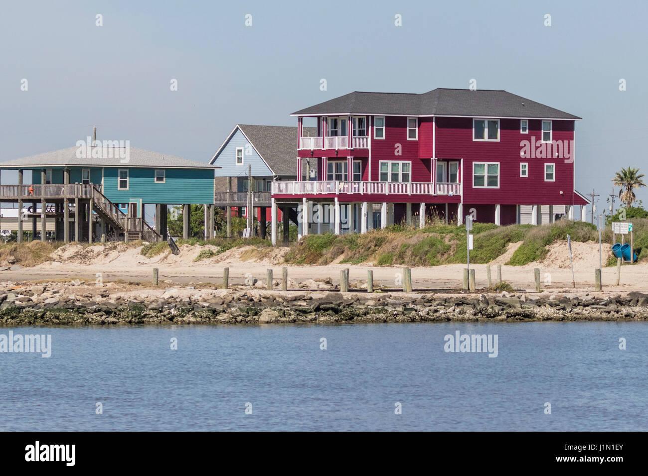 Beach House On Stilts Stock Photos & Beach House On Stilts ...