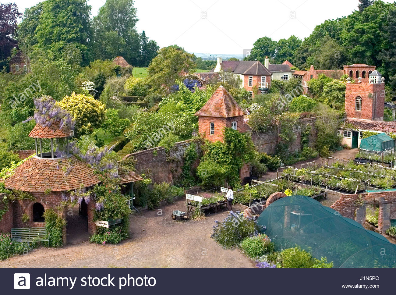 Aerial view of stone house cottage garden and nursery may stock aerial view of stone house cottage garden and nursery may workwithnaturefo