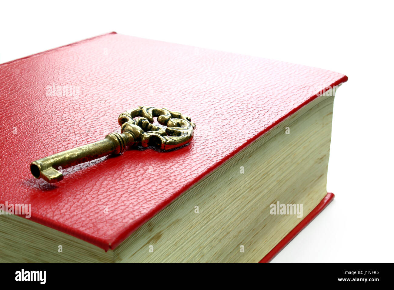 Key to knowledge - Stock Image