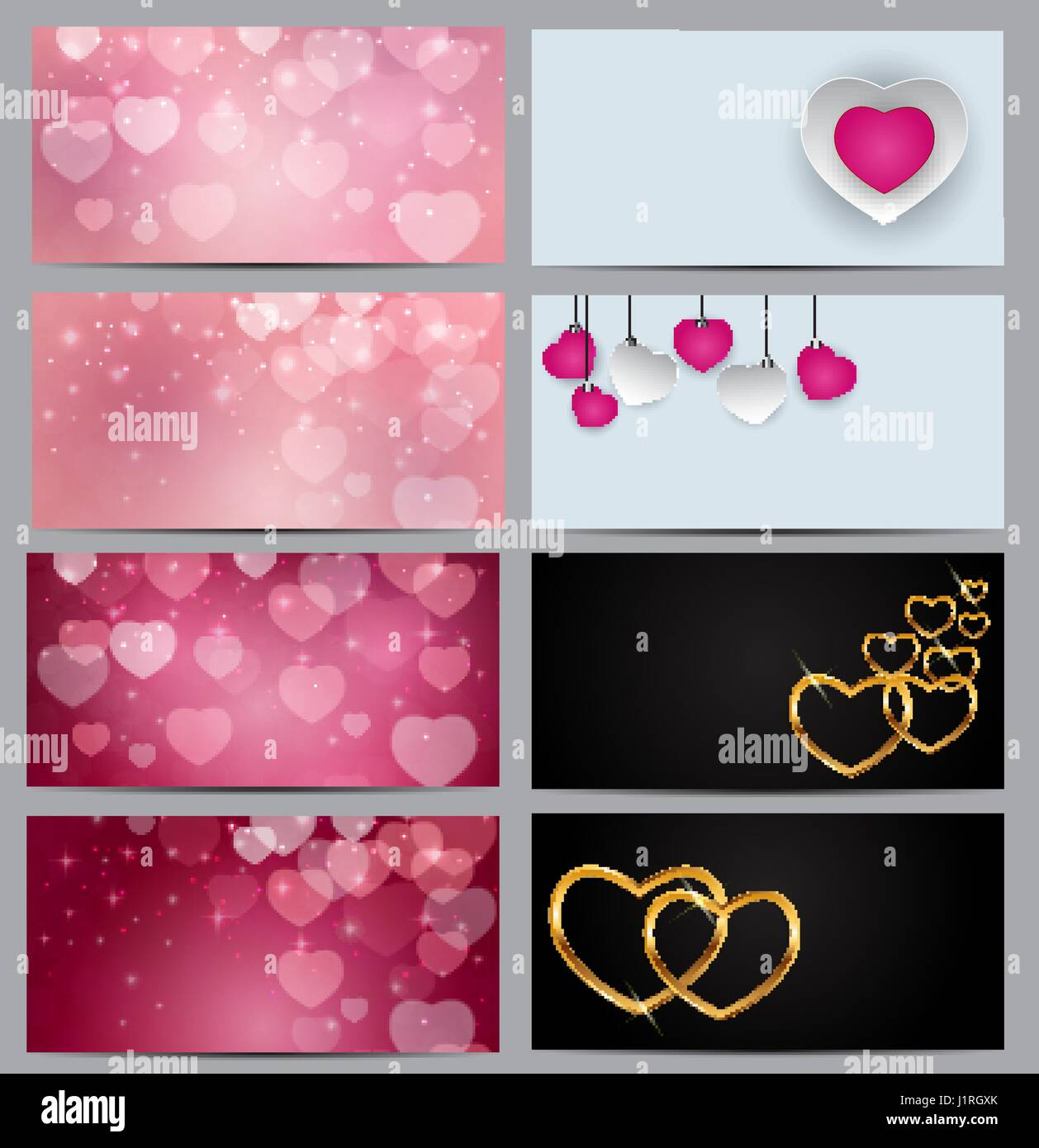 Gift Voucher Template For Your Business Valentine S Day Heart C