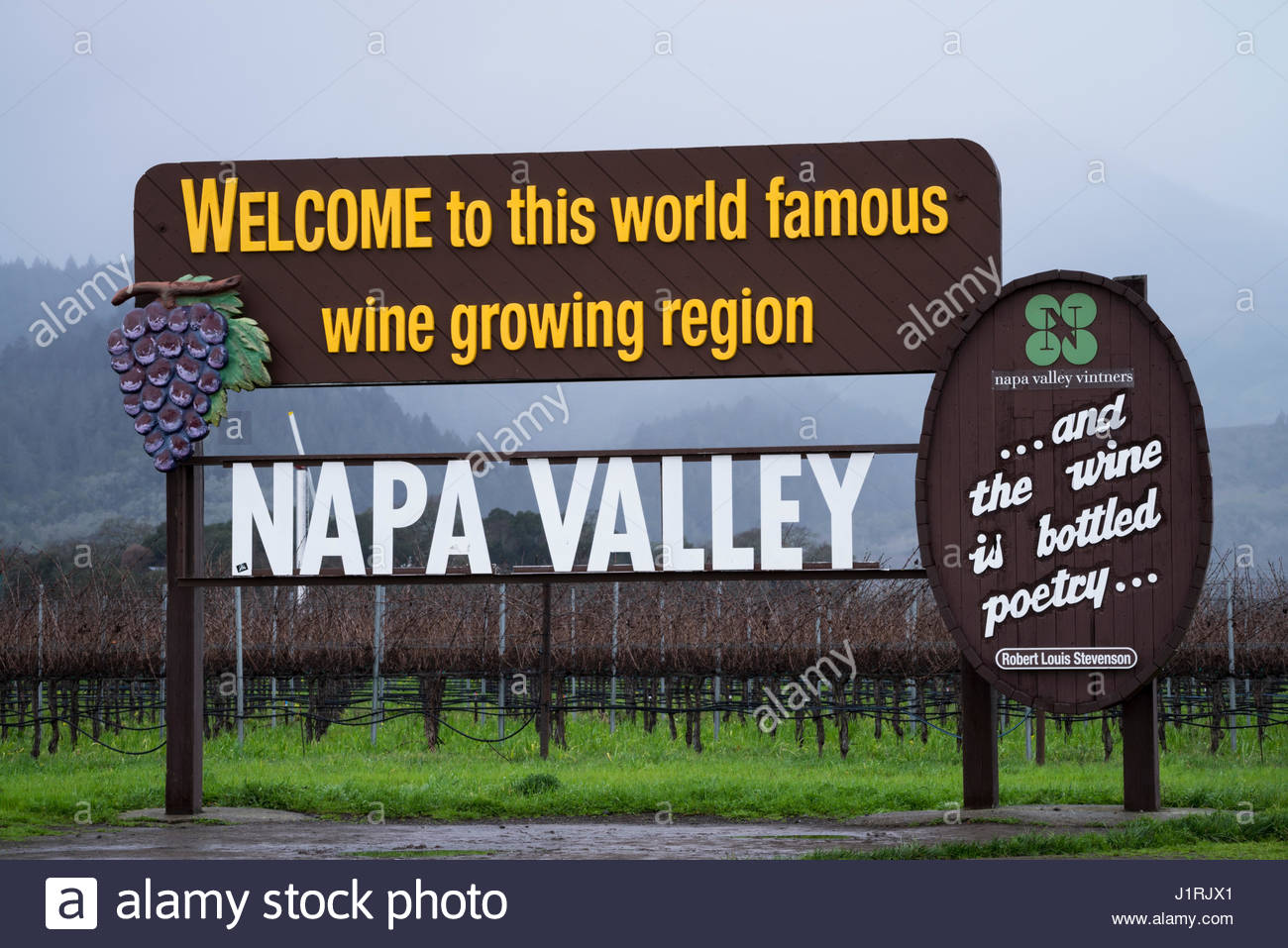 American Viticultural Area Stock Photos Amp American