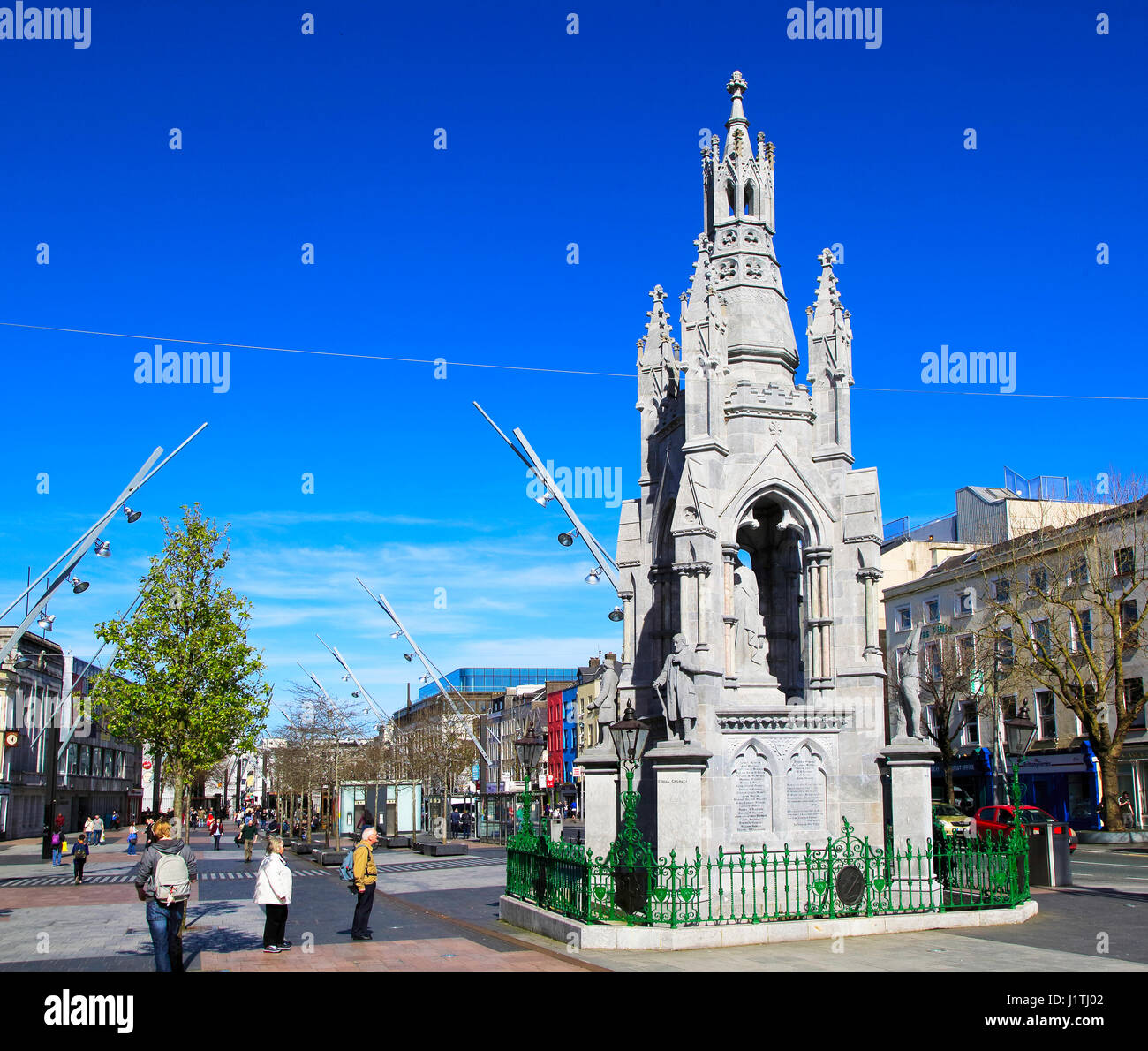National Monument memorial, Grand Parade, City of Cork, County Cork, Ireland, Irish Republic Stock Photo