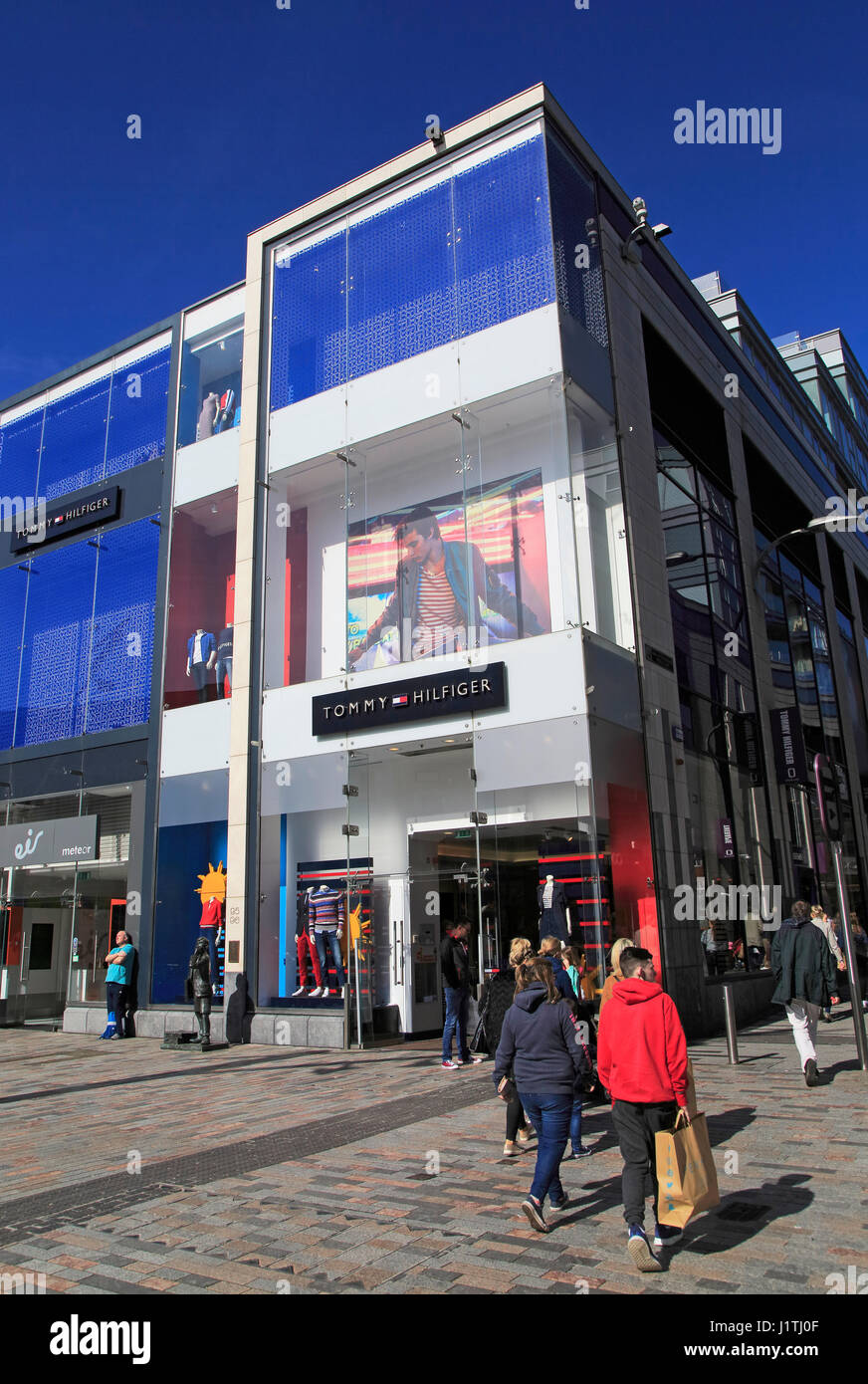 dormire acciaio Uomo  Tommy Hilfiger shop, St Patrick's Street, City of Cork, County Cork Stock  Photo - Alamy