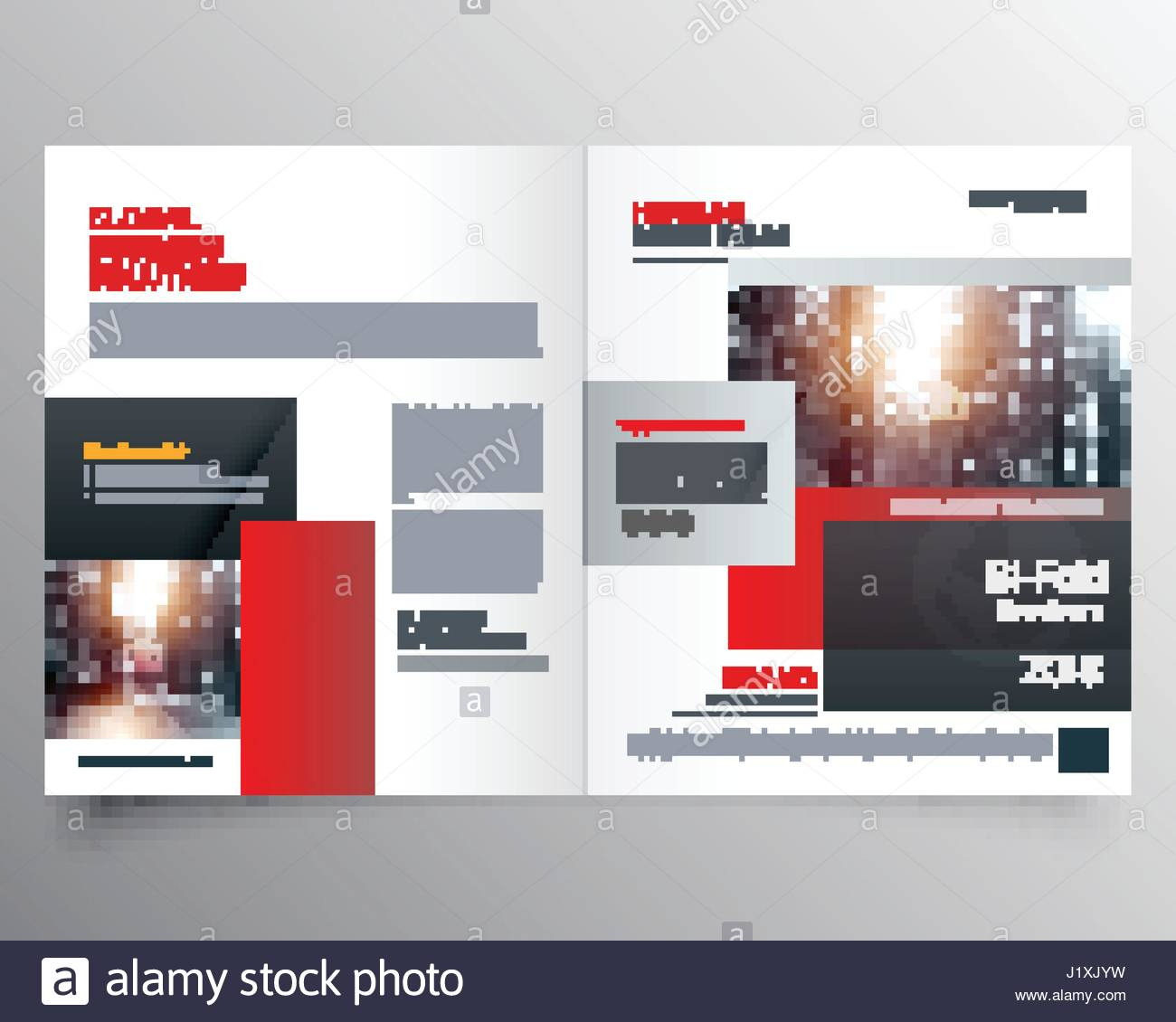 Awesome Magazine Cover Page Design Or Bifold Template Brochure Stock Vector Image Art Alamy
