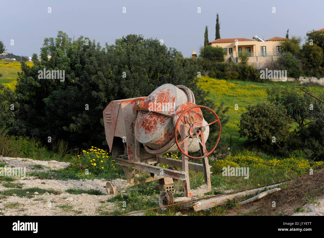 Concrete Mixer Stock Photos Concrete Mixer Stock Images