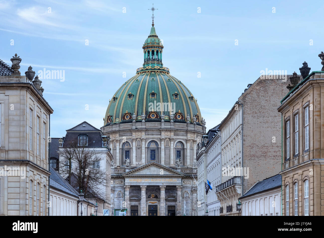Frederik's Church, Copenhagen, Denmark, Scandinavia Stock Photo