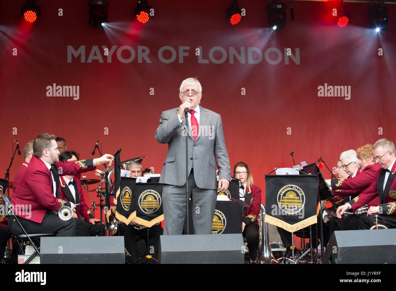 London, UK. 22nd April, 2017. Credit: Chris Pig Photography/Alamy Live News - Stock Image