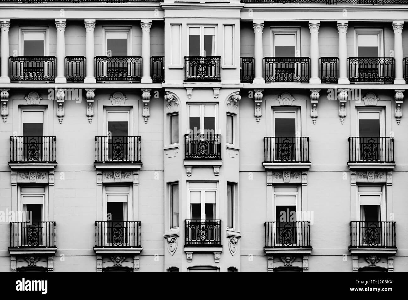 Hotel building exterior - Stock Image