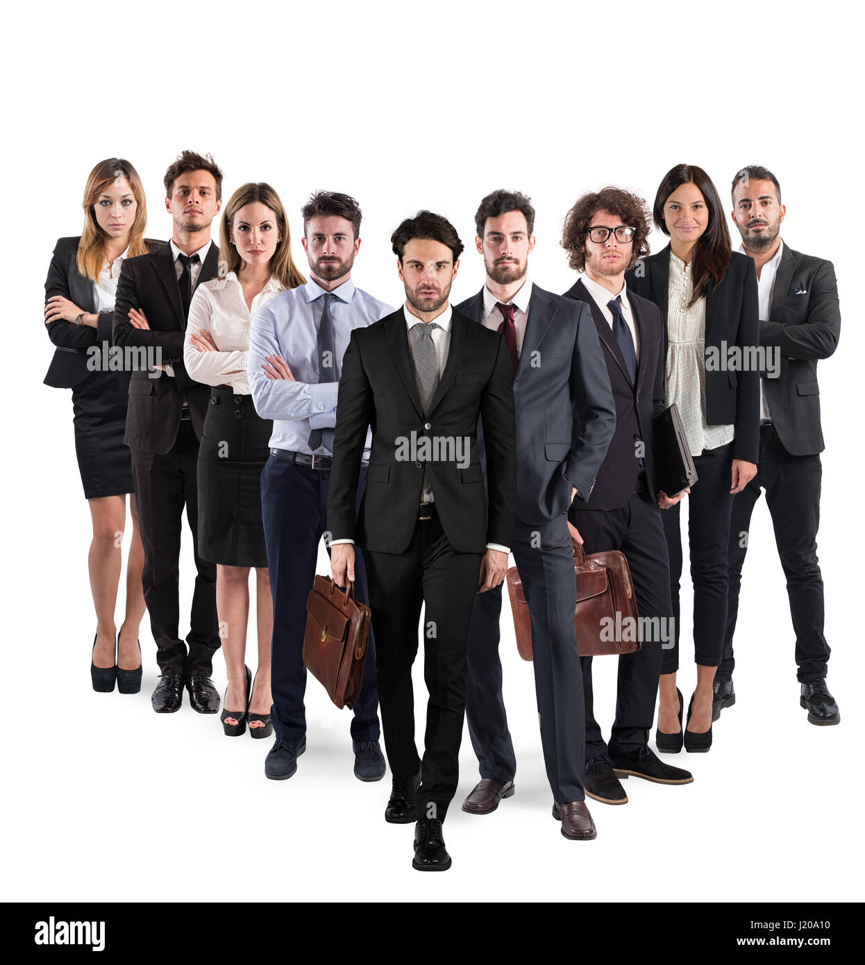 Business team corporate - Stock Image