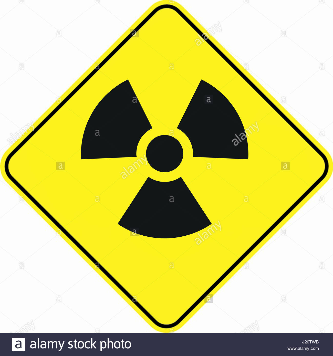 Symbol Radiology Safety Warning Stock Photos Symbol Radiology