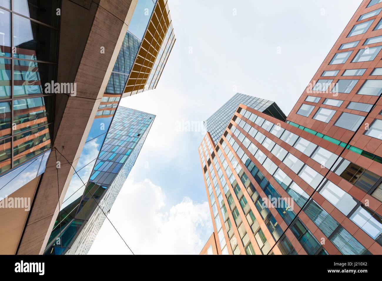 Österreich, Wien, Innenstadt, Bürogebäude, Büros, modern - Stock Image
