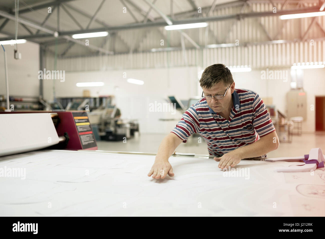 Creative designer working on project - Stock Image