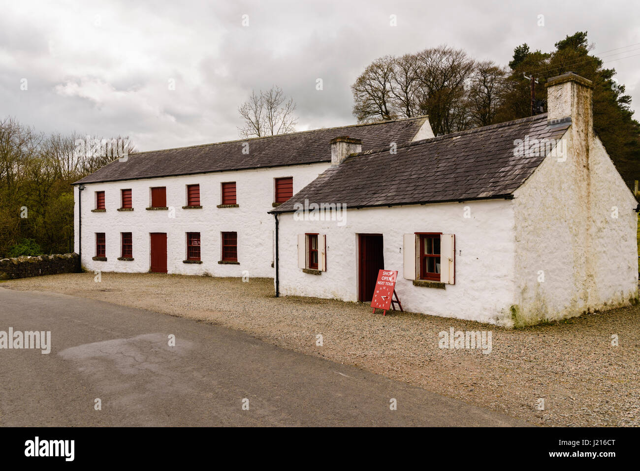 Wellbrook Beetling Mill, Cookstown, Northern Ireland - Stock Image