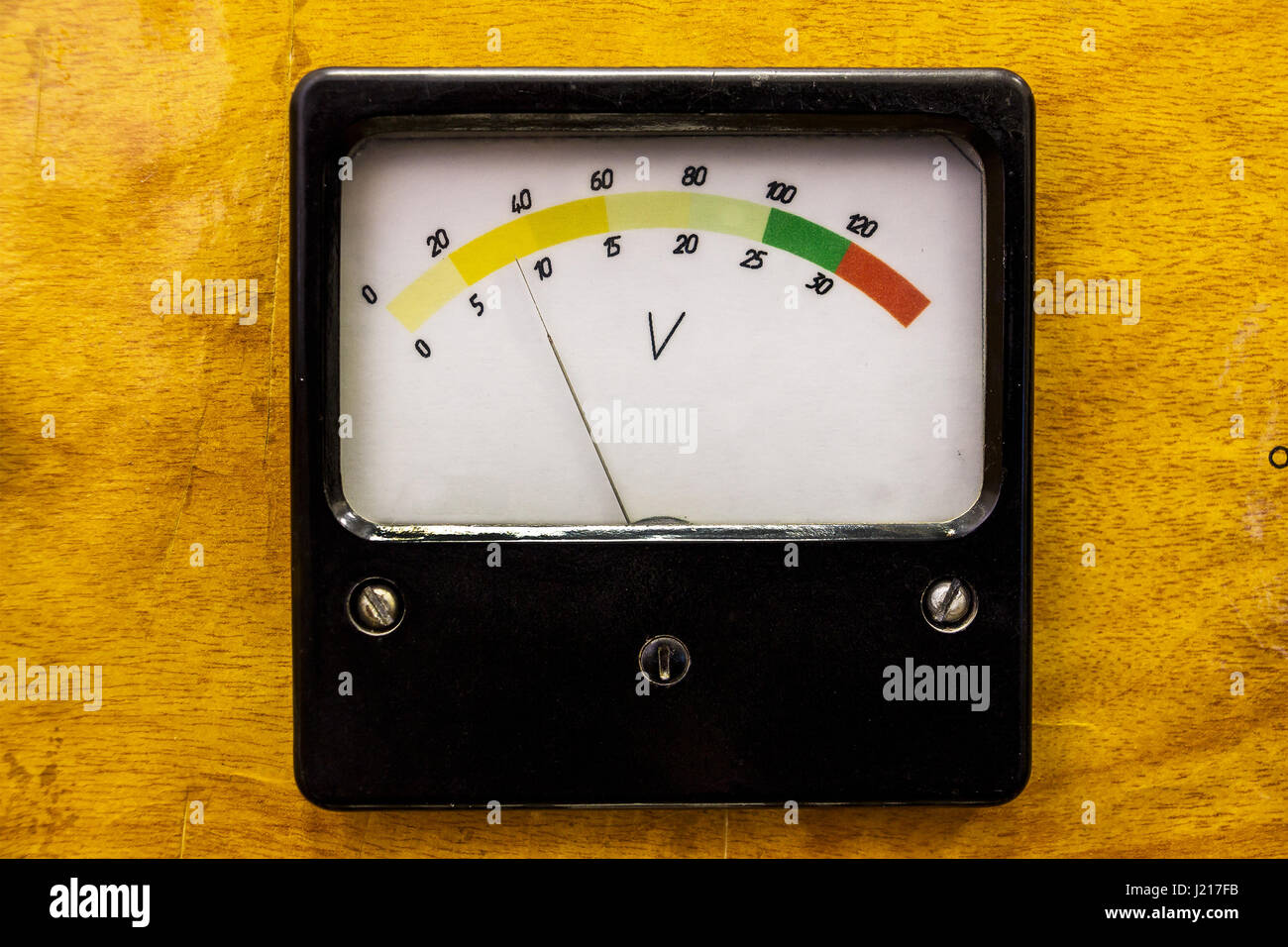 Old measuring instrument - Stock Image