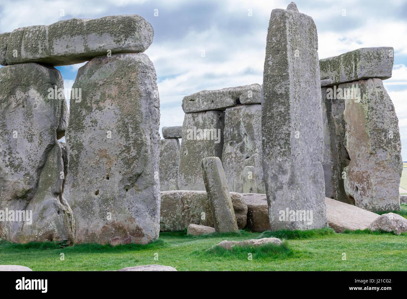 Detail images of Stonehenge - Stock Image