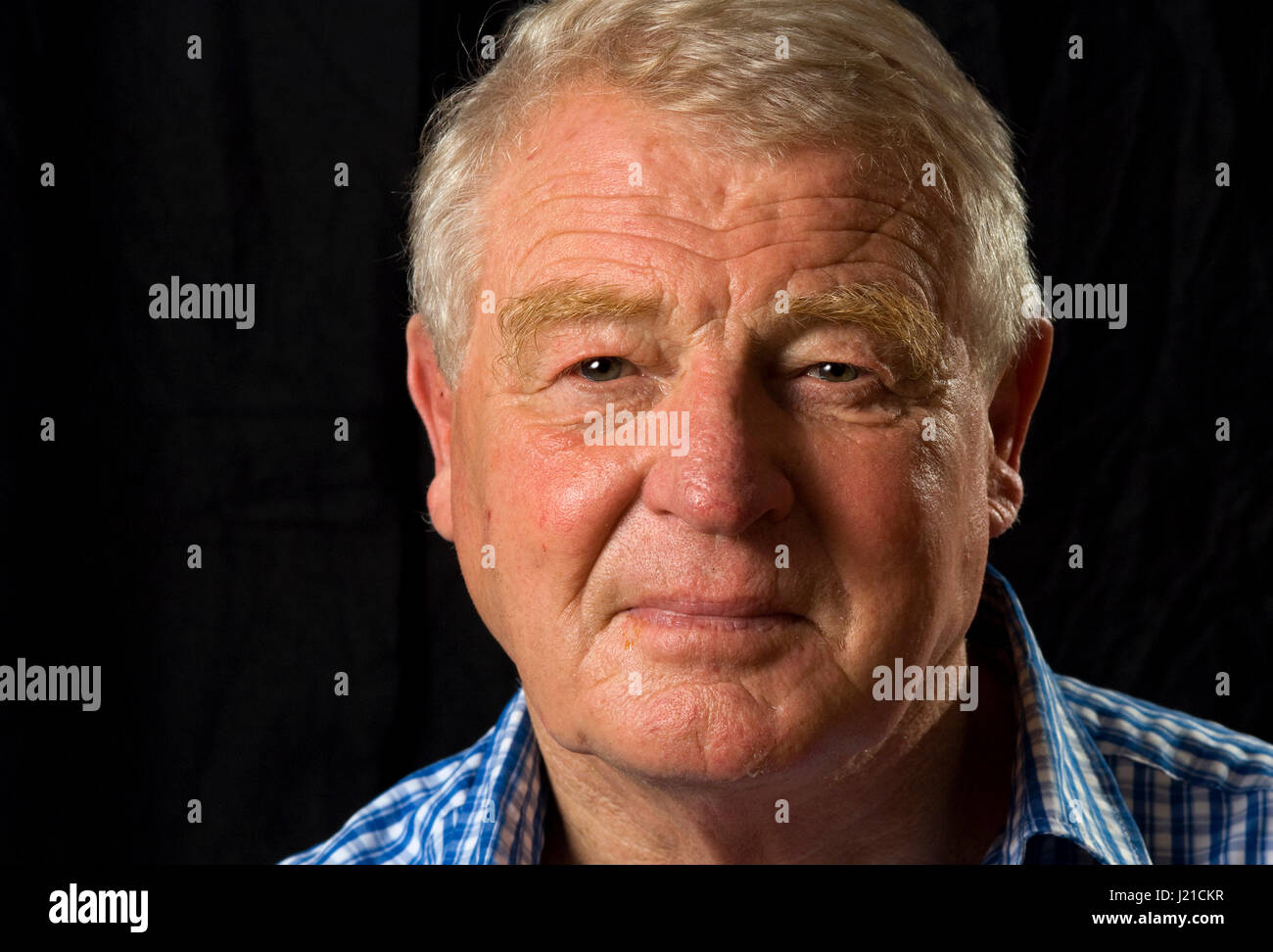 Sir Paddy Ashdown photographed at his home in Somerset, UK Stock Photo