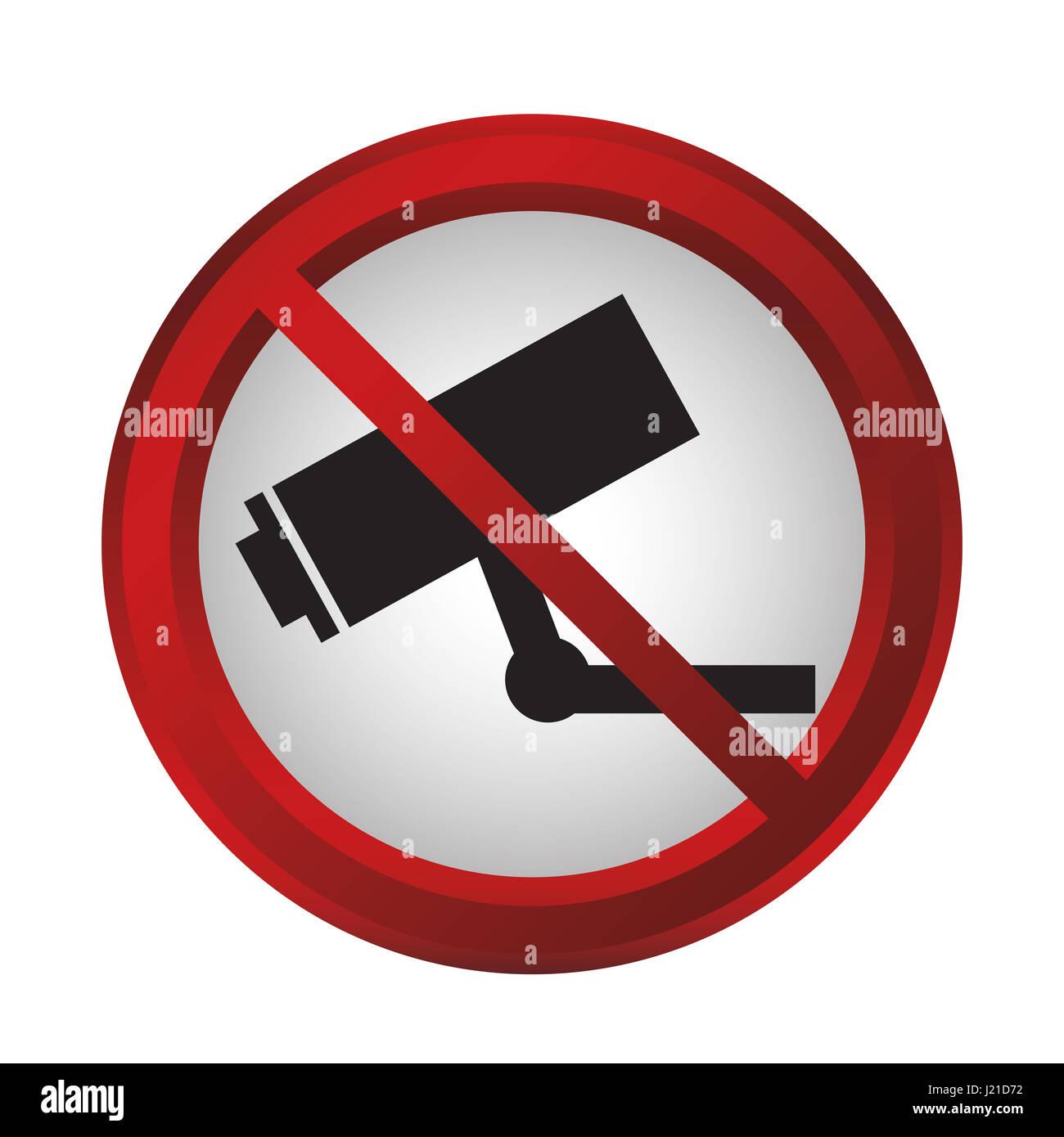 forbidden signs design - Stock Image