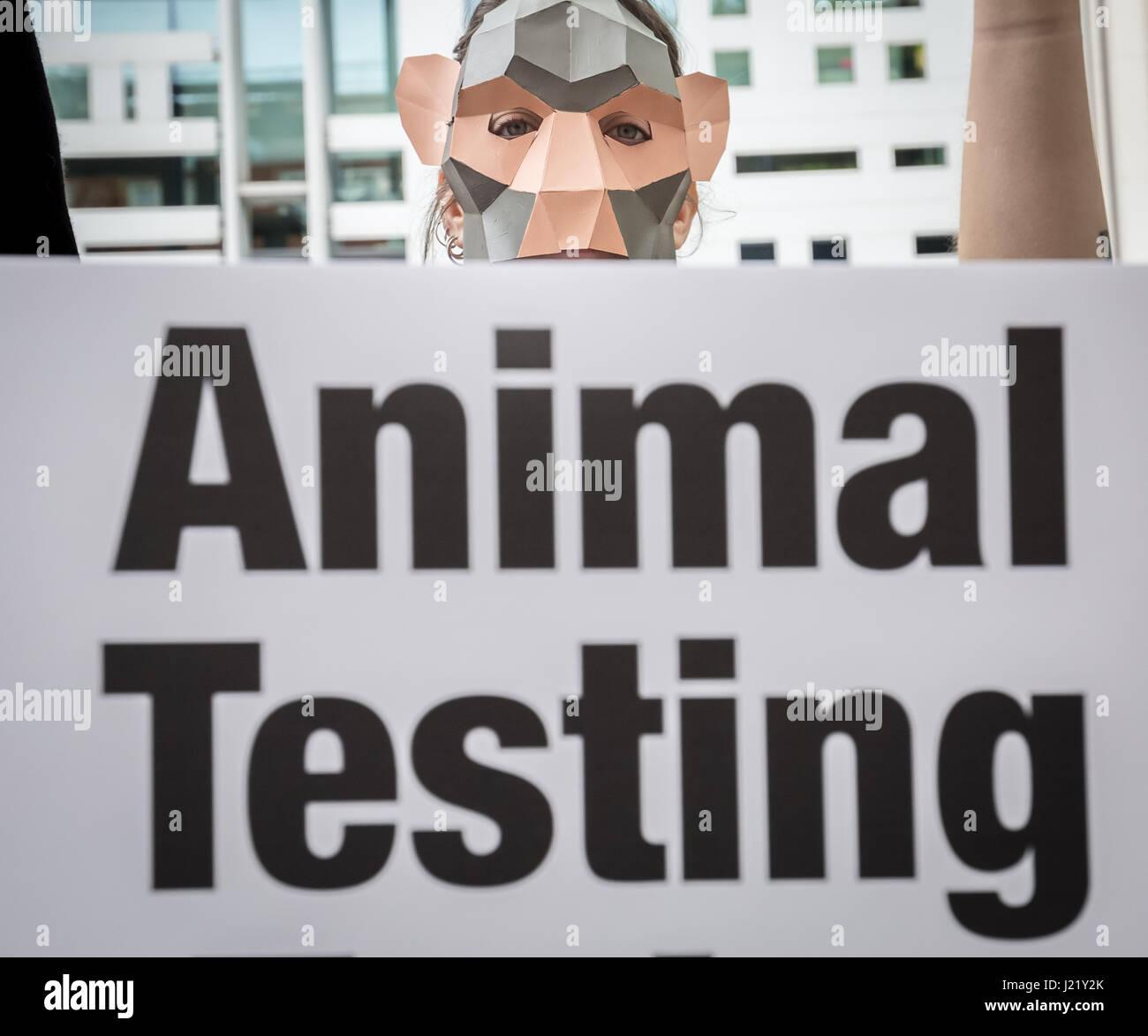 Animal Testing Protest Stock Photos & Animal Testing Protest Stock ...