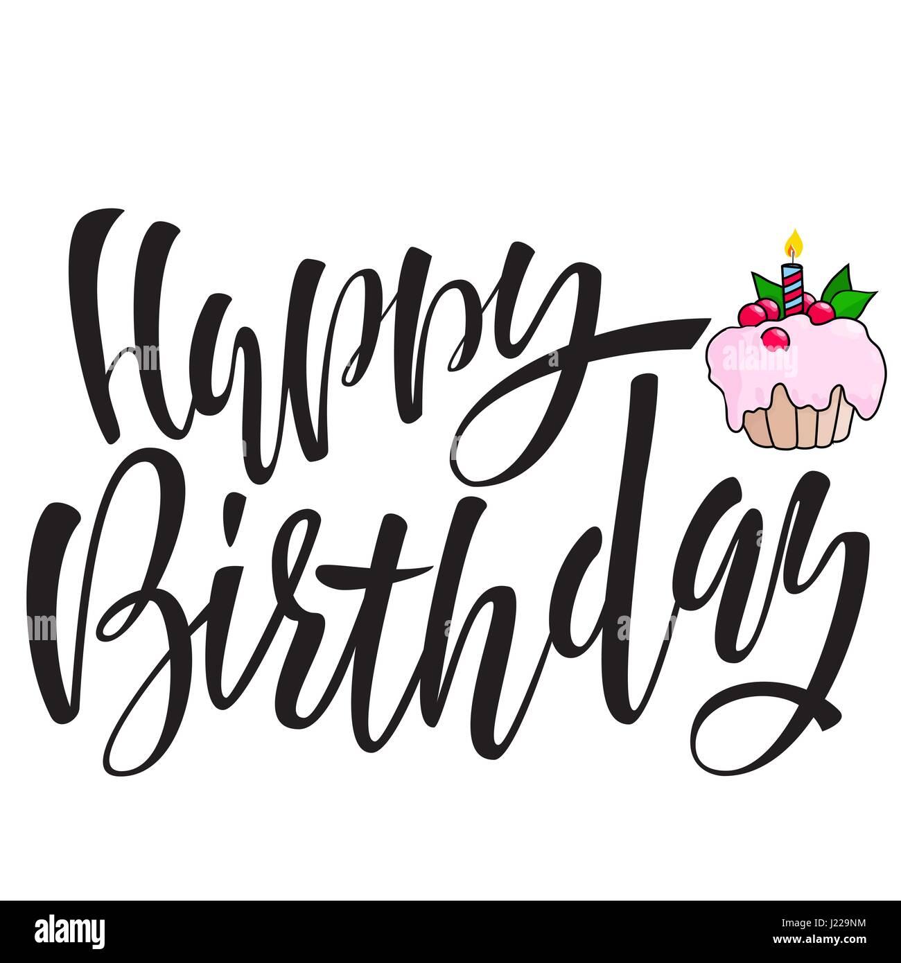 Happy Birthday Designs Pink Card