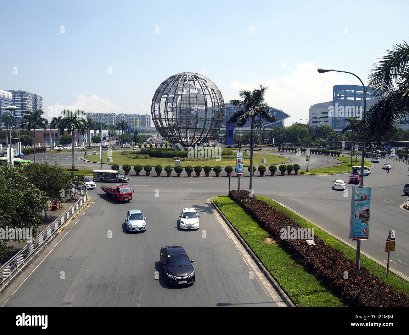 PASAY CITY, PHILIPPINES - APRIL 20, 2017: The SM Mall Of Asia or SM MOA is considered to be the third largest mall - Stock Image