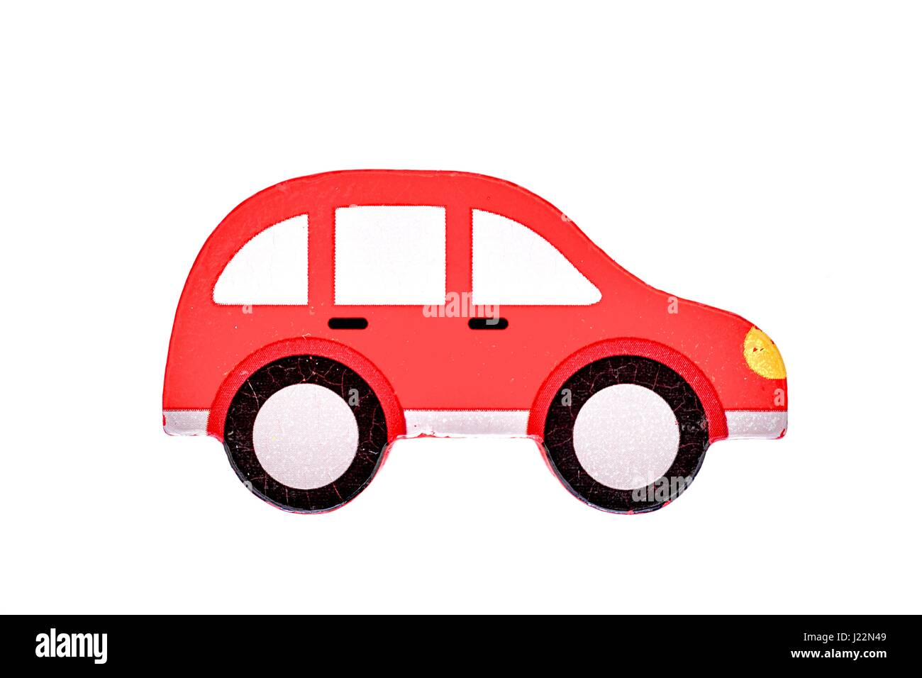Little Red Car >> A Conceptual Photo Of A Little Red Car Stock Photo