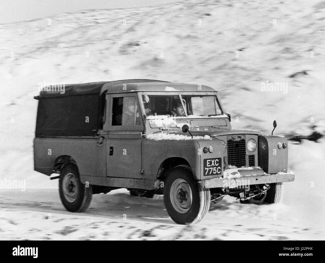 1965 Land Rover Series 2 109 - Stock Image