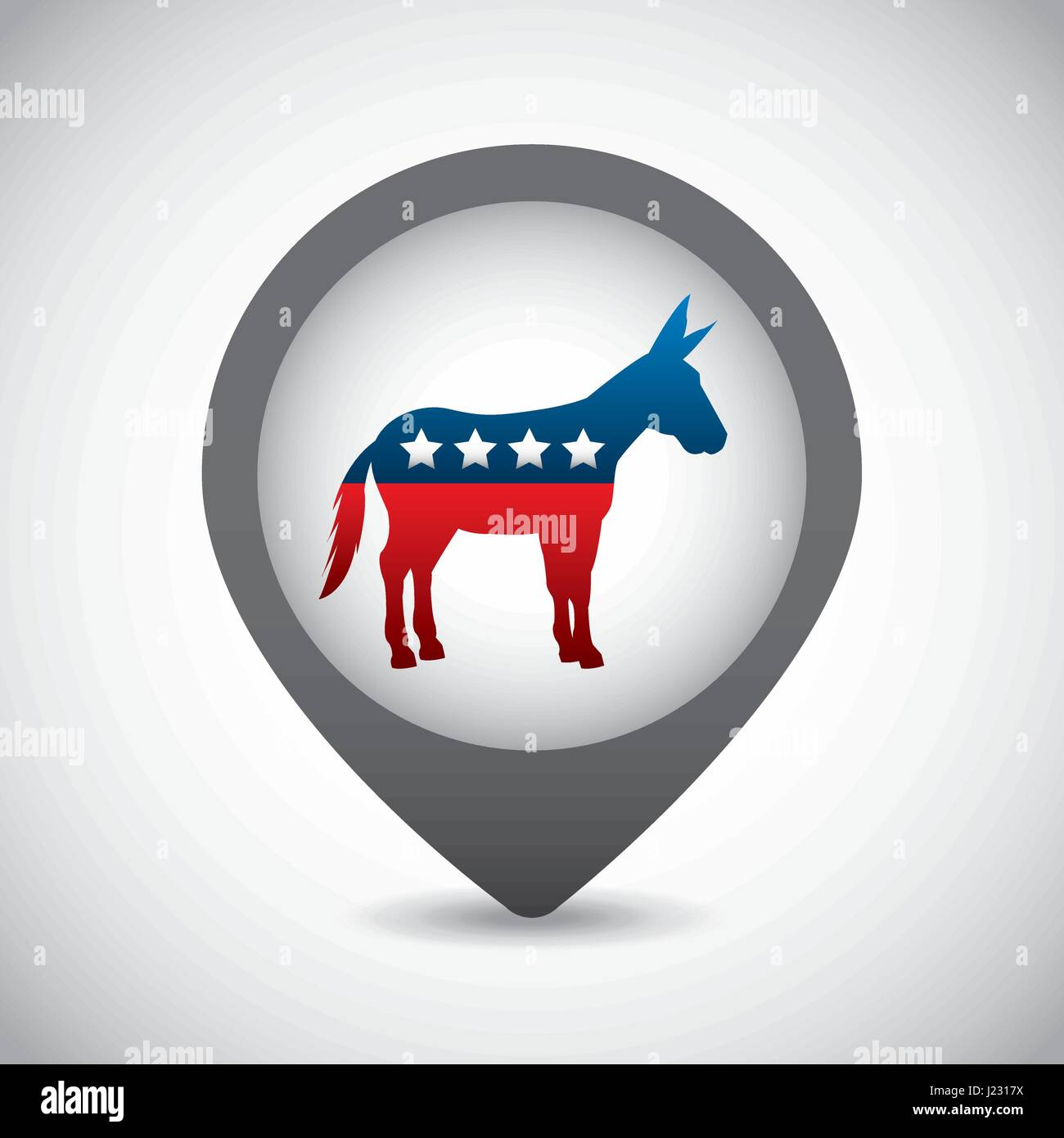 Democrat Donkey Symbol Stock Photos Democrat Donkey Symbol Stock