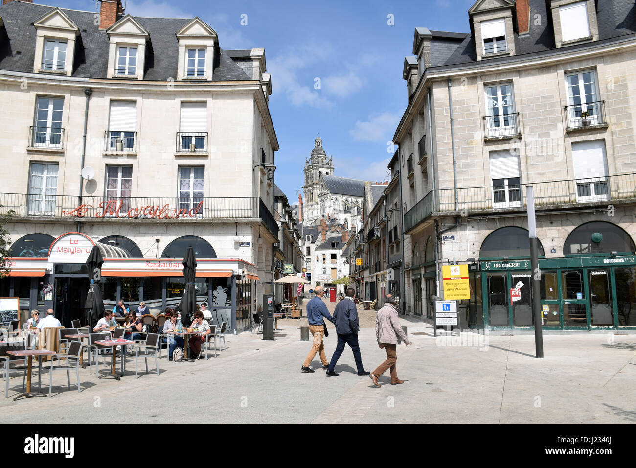 Blois, Loire valley, France - Stock Image