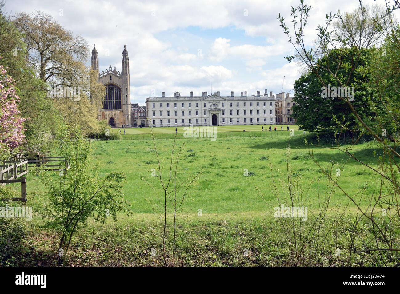 Kings College, University of Cambridge - Stock Image