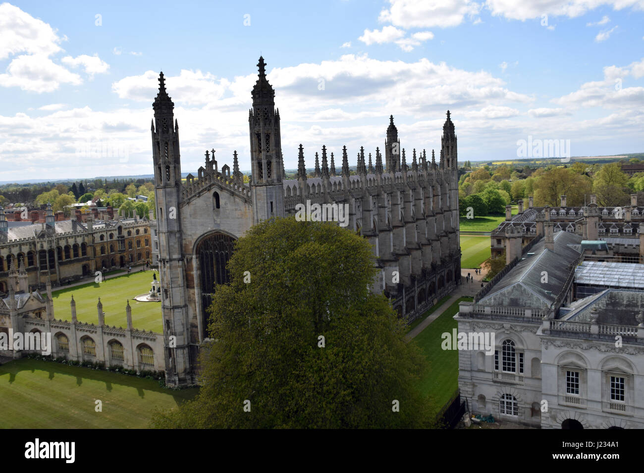 Kings College Chapel, University of Cambridge - Stock Image