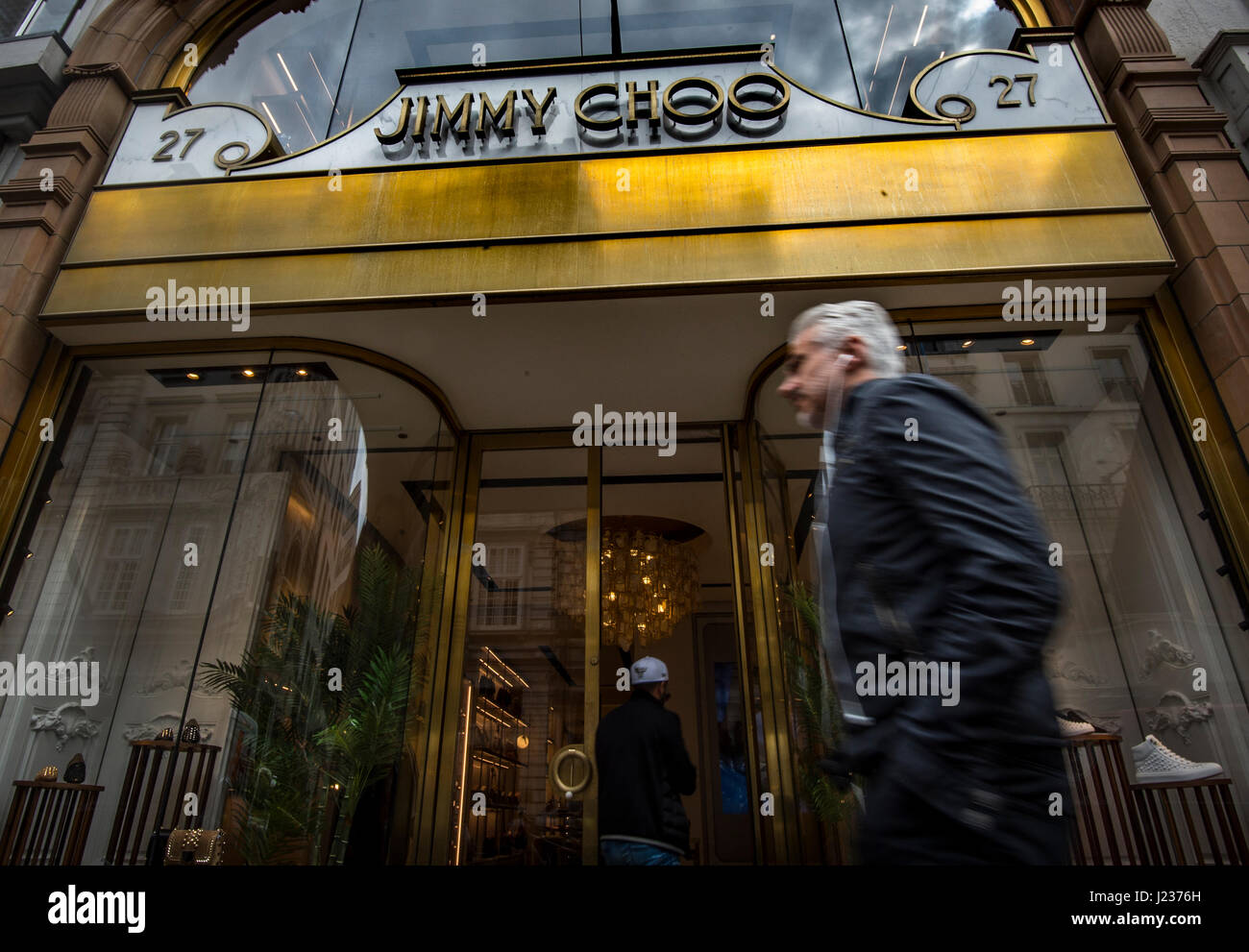 6685a5339ca A view of the Jimmy Choo shop on New Bond Street, London, as the board of  luxury shoe brand has put the business up for sale as part of a strategic  review.