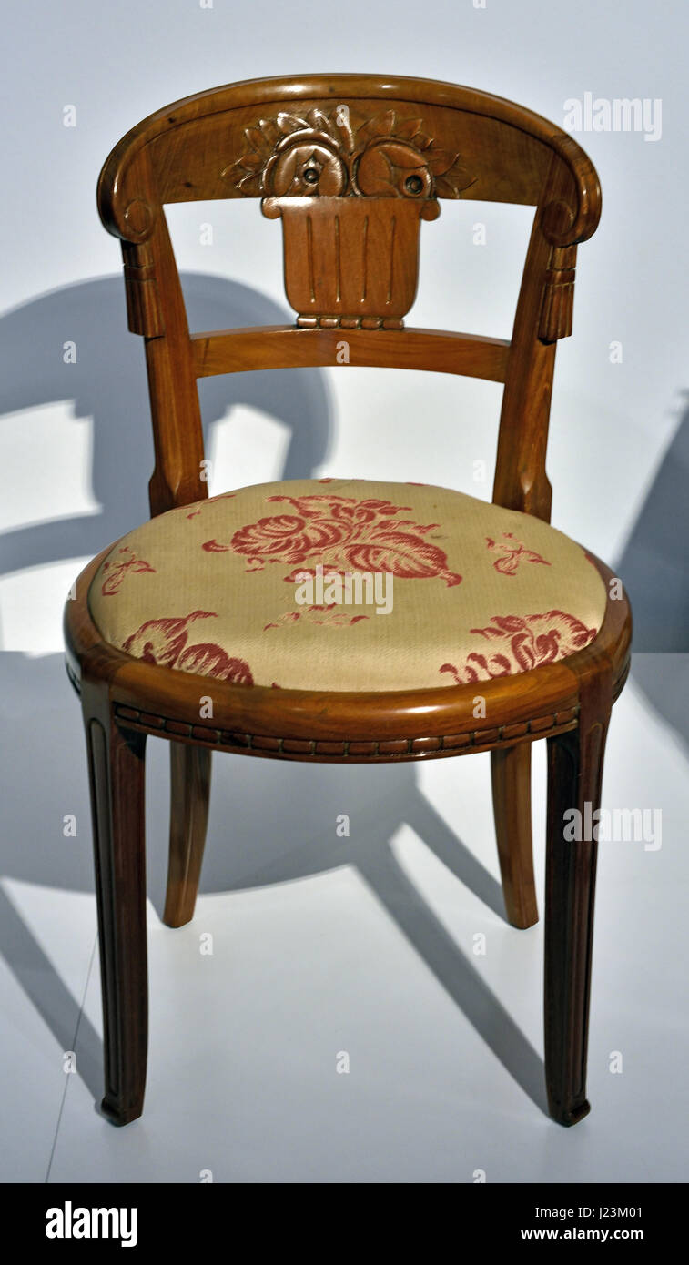 Chair 1925 -1928 Sue et Mare (Compagnie des Arts Francais) - Stock Image