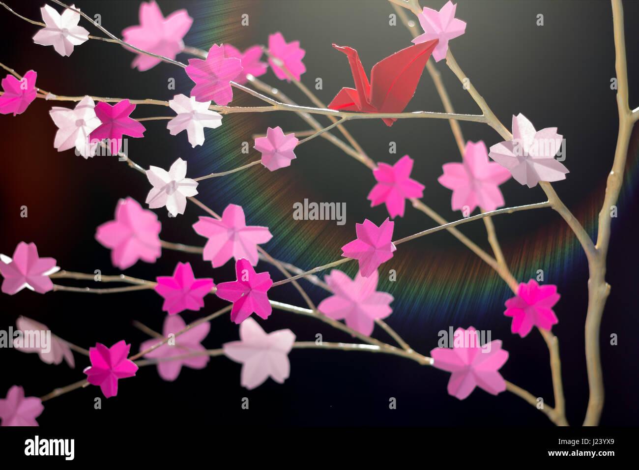 Origami Samples » Origami Sakura - Origami Pictures and Tutorial   956x1300