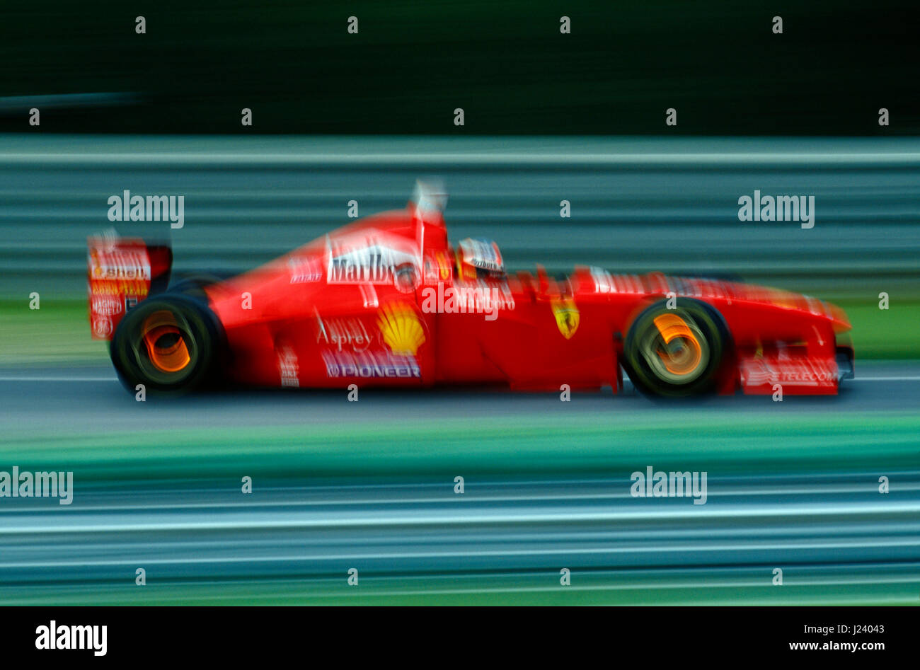 F1, Ferrari, Michael Schumacher, Austria GP 1997   Stock Image