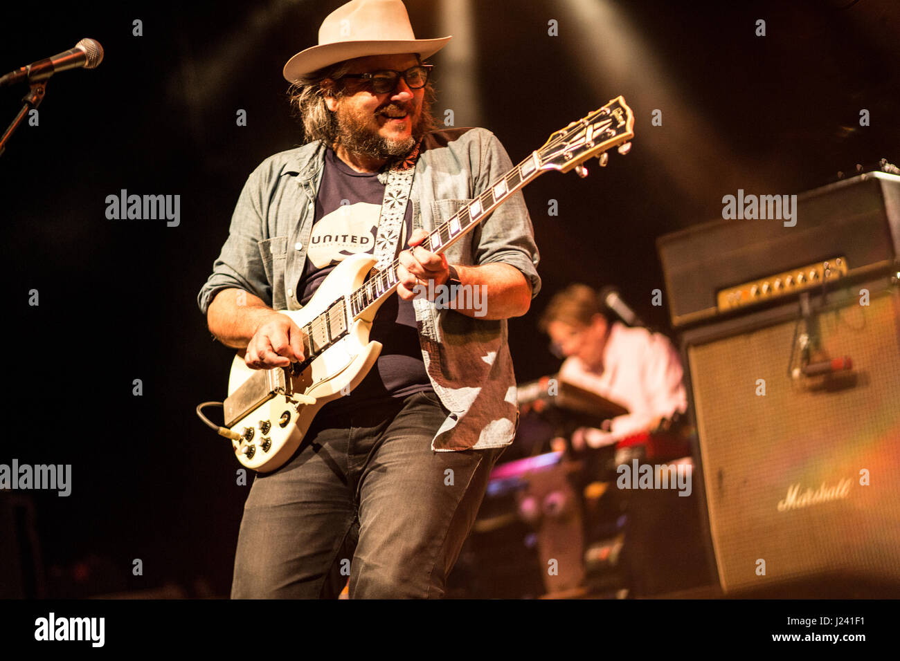 Wilco bringing a beautiful night of music - Stock Image