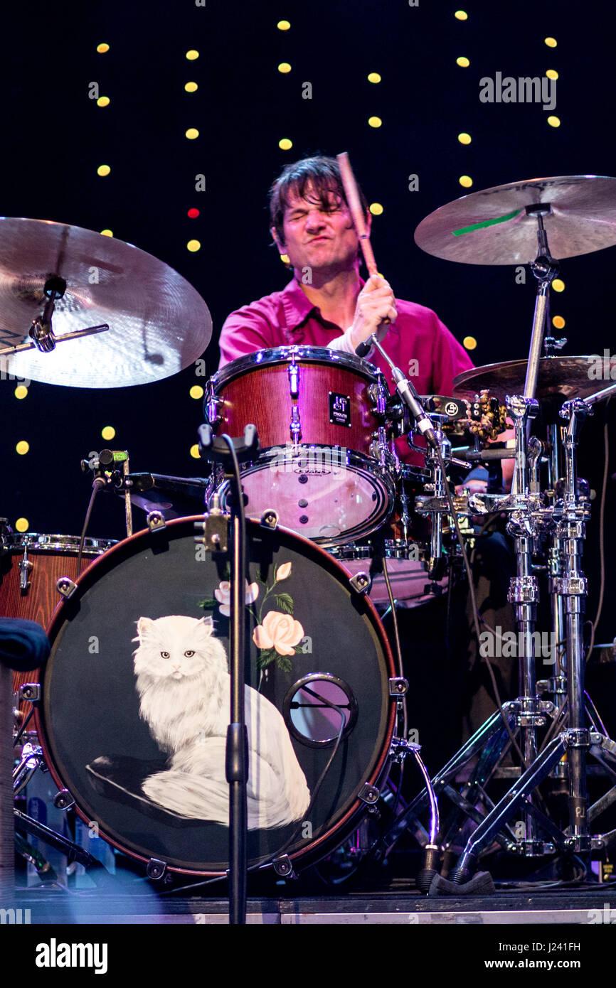 Wilco bringing a beautiful night of music - Stock Image