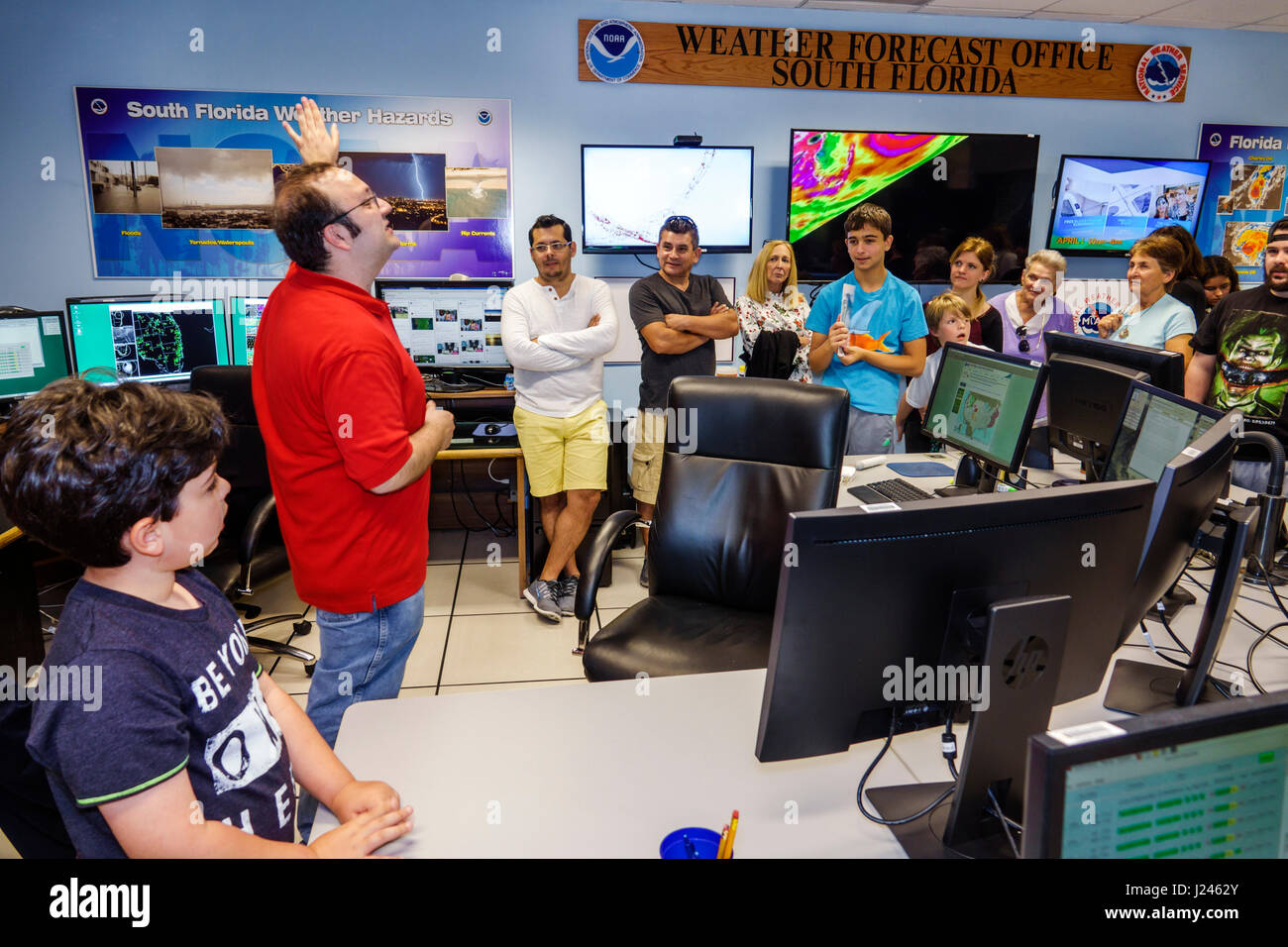 Miami Florida National Hurricane Center NHC NOAA National
