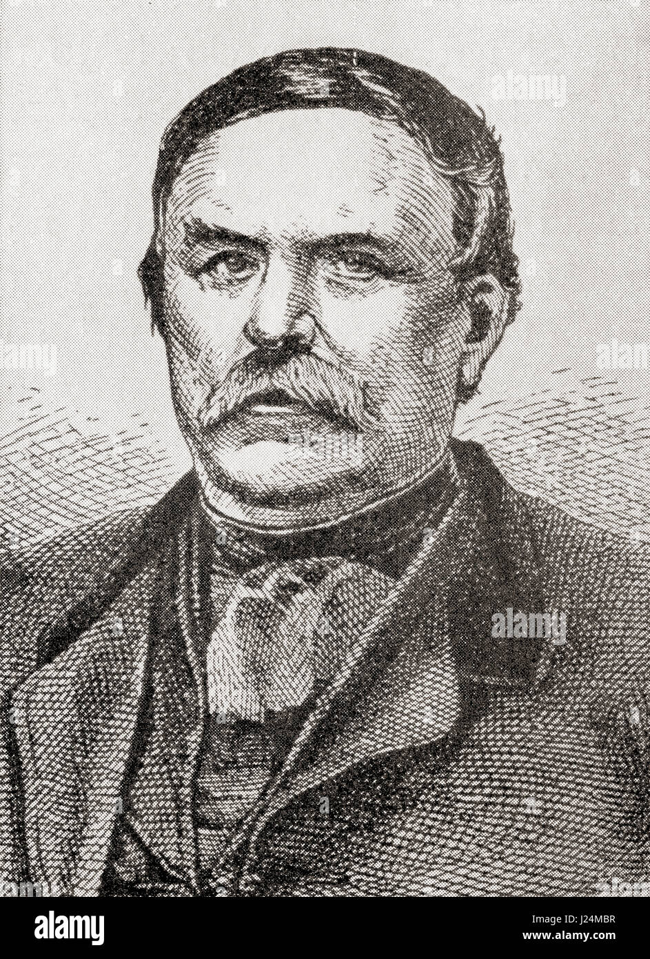 Ferenc Deák de Kehida, aka Francis Deak and The Wise Man of the Nation, 1803 – 1876.  Hungarian statesman and - Stock Image