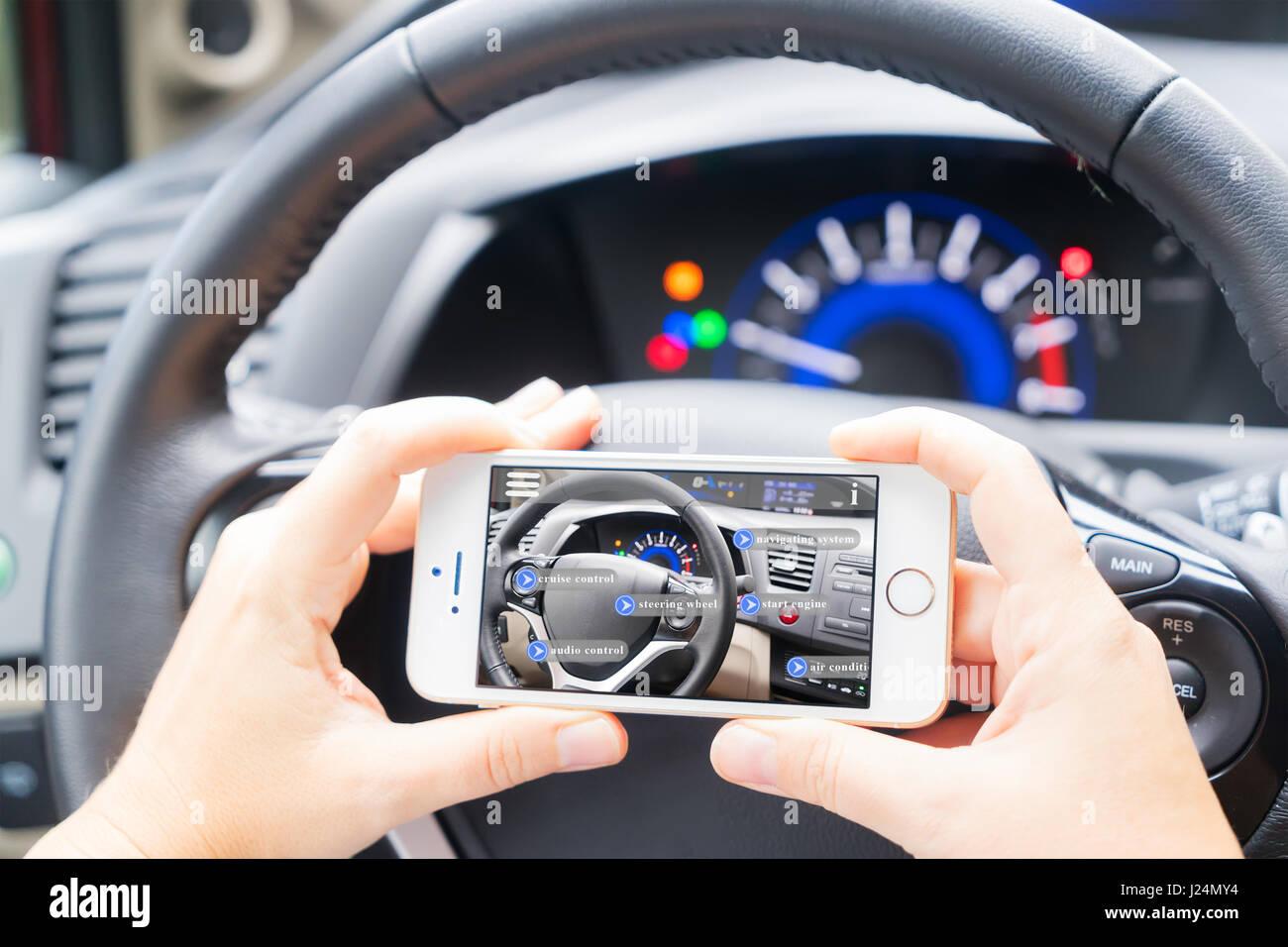 smart car concept - Stock Image
