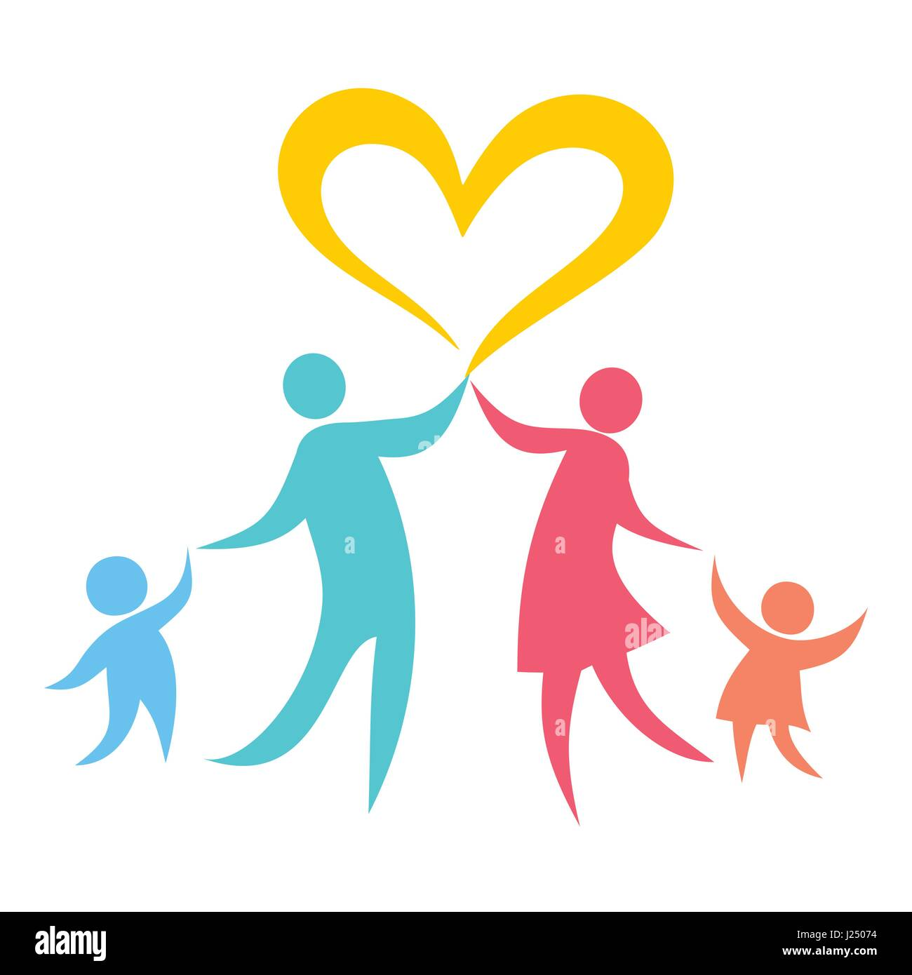 Godly Love For Each Other: A Happy Christian Family Based On Love For Each Other And