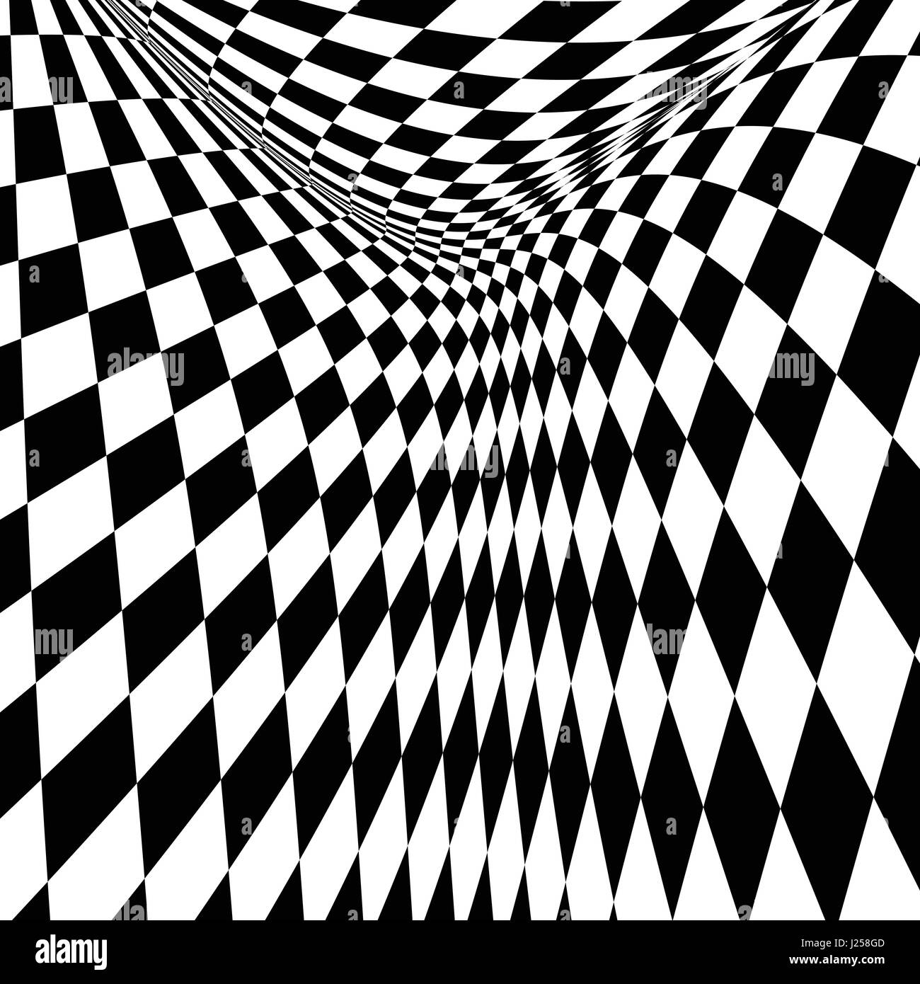 Checkered Pattern Black And White Stock Photos Images Alamy