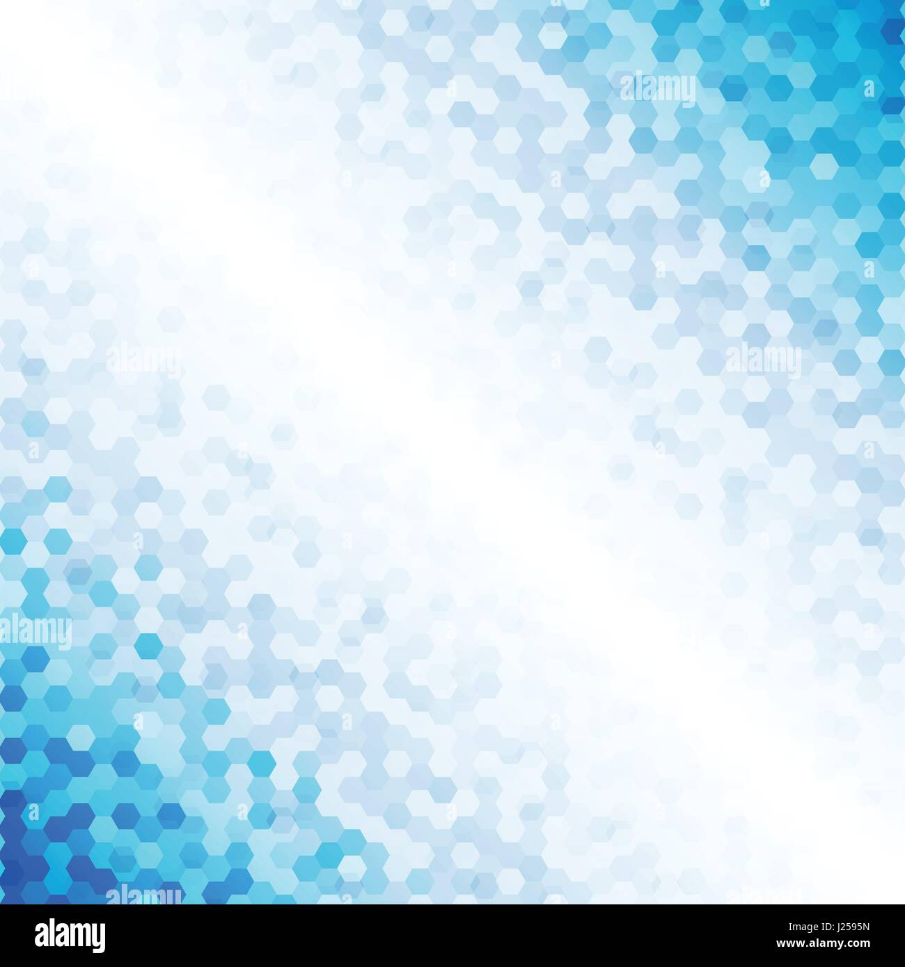 Shades Of Blue Design | Abstract Blue Metal Hexagon Background Stock Vector Images Alamy