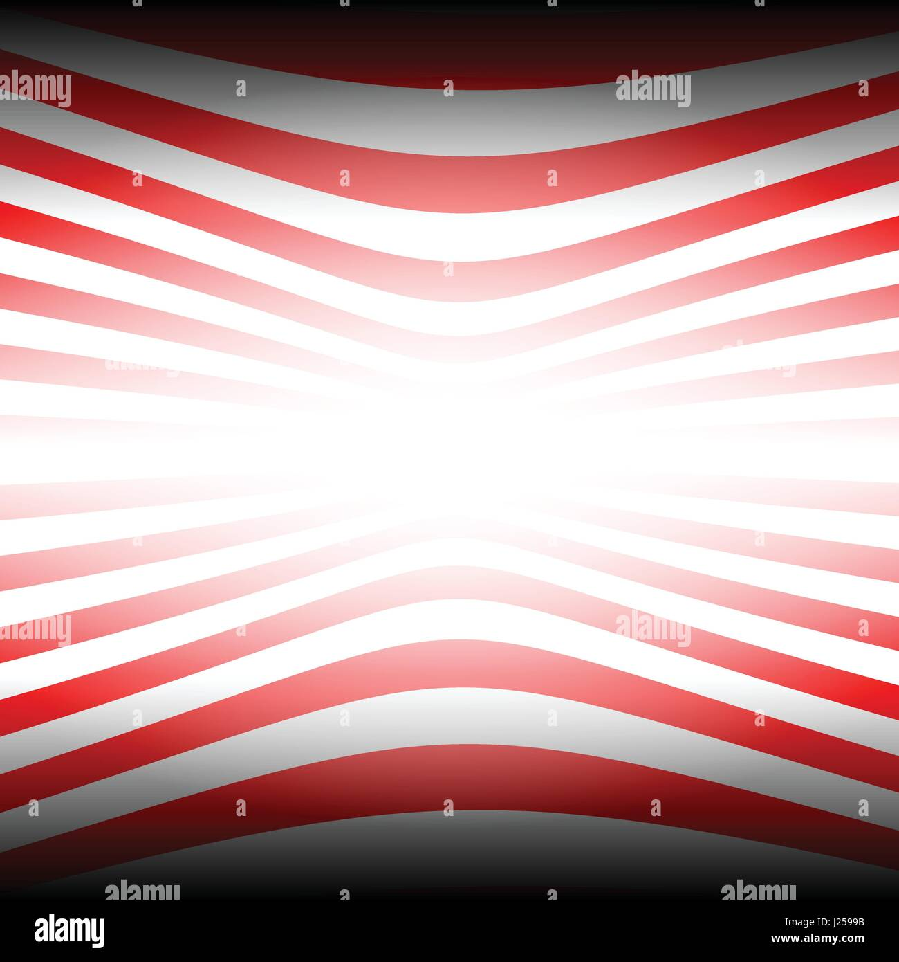 Two tone red stripes abstract background concept - Stock Image