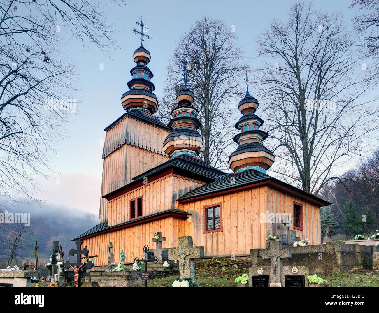Wooden Church Slovakia Unesco Stock Photos Wooden Church Slovakia