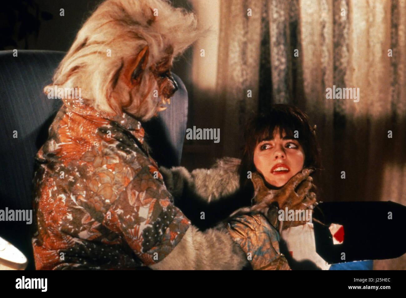 My Mom's A Werewolf, aka: Meine Mutter ist ein Werwolf, USA 1989, Regie: Michael Fischa, Darsteller: Katrina - Stock Image