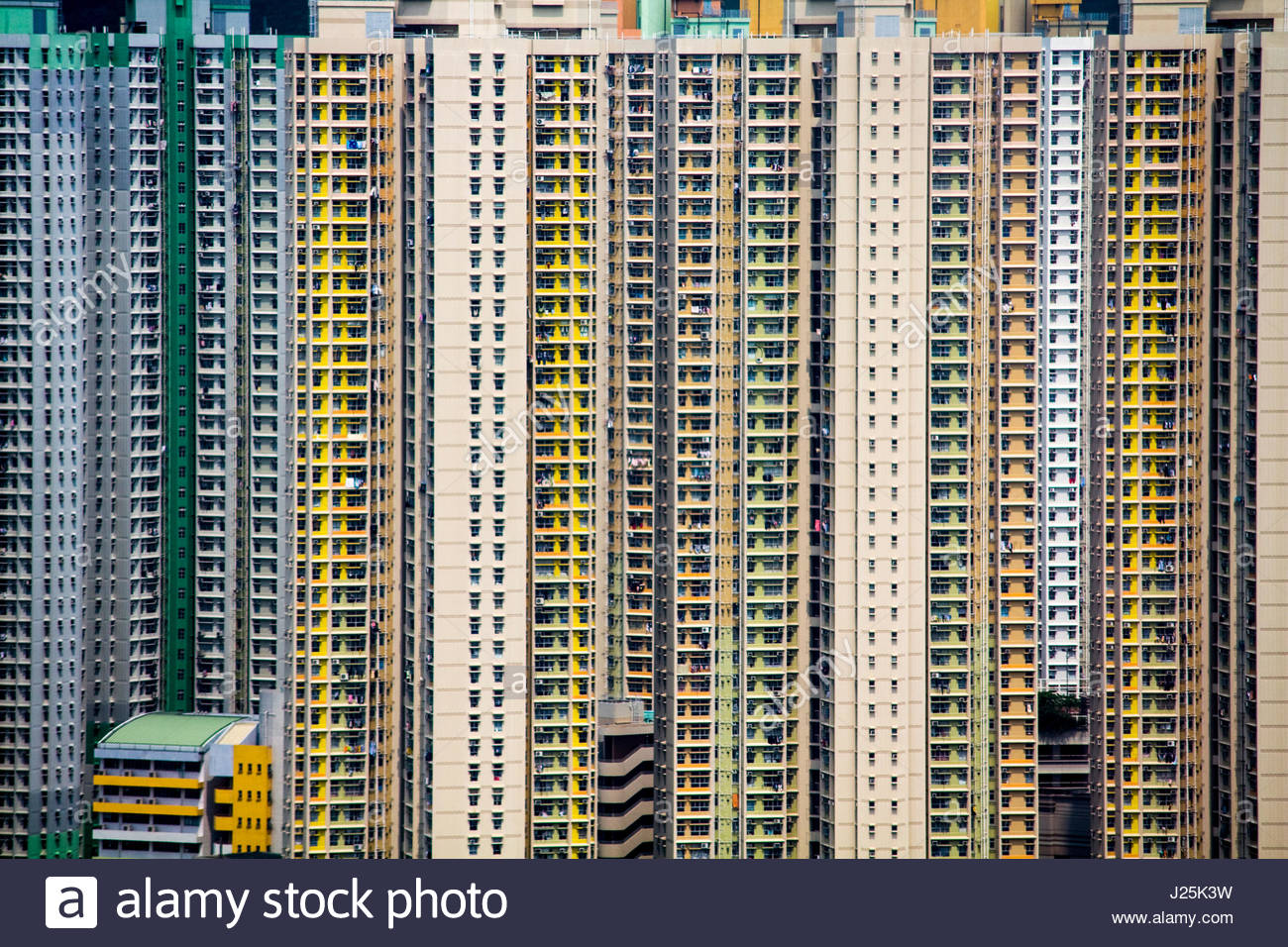 Hong Kong Highrise   These Apartments In Hong Kong Felt Like Beehives To Me