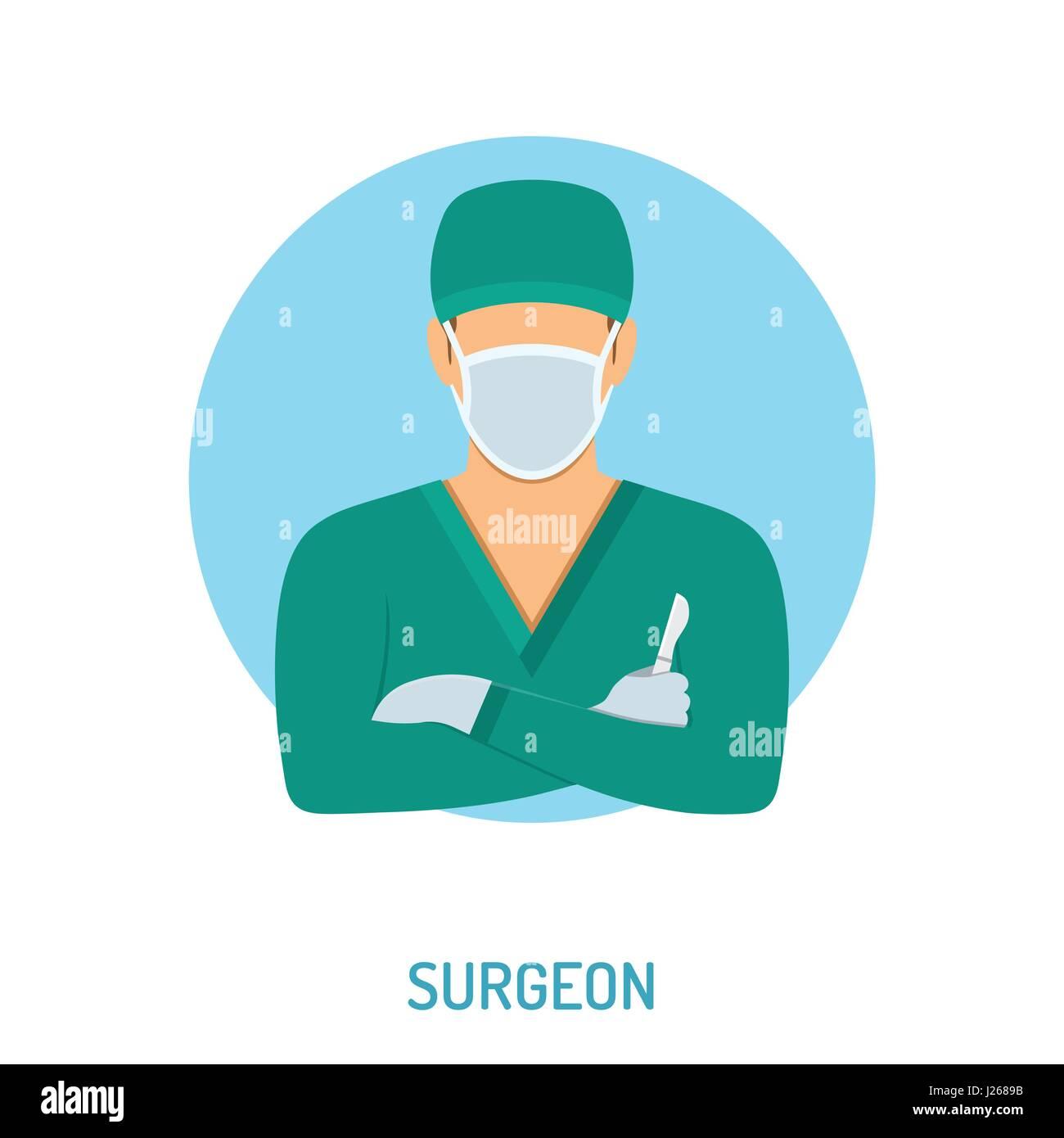 Doctor Surgeon Concept Stock Vector Image Art Alamy