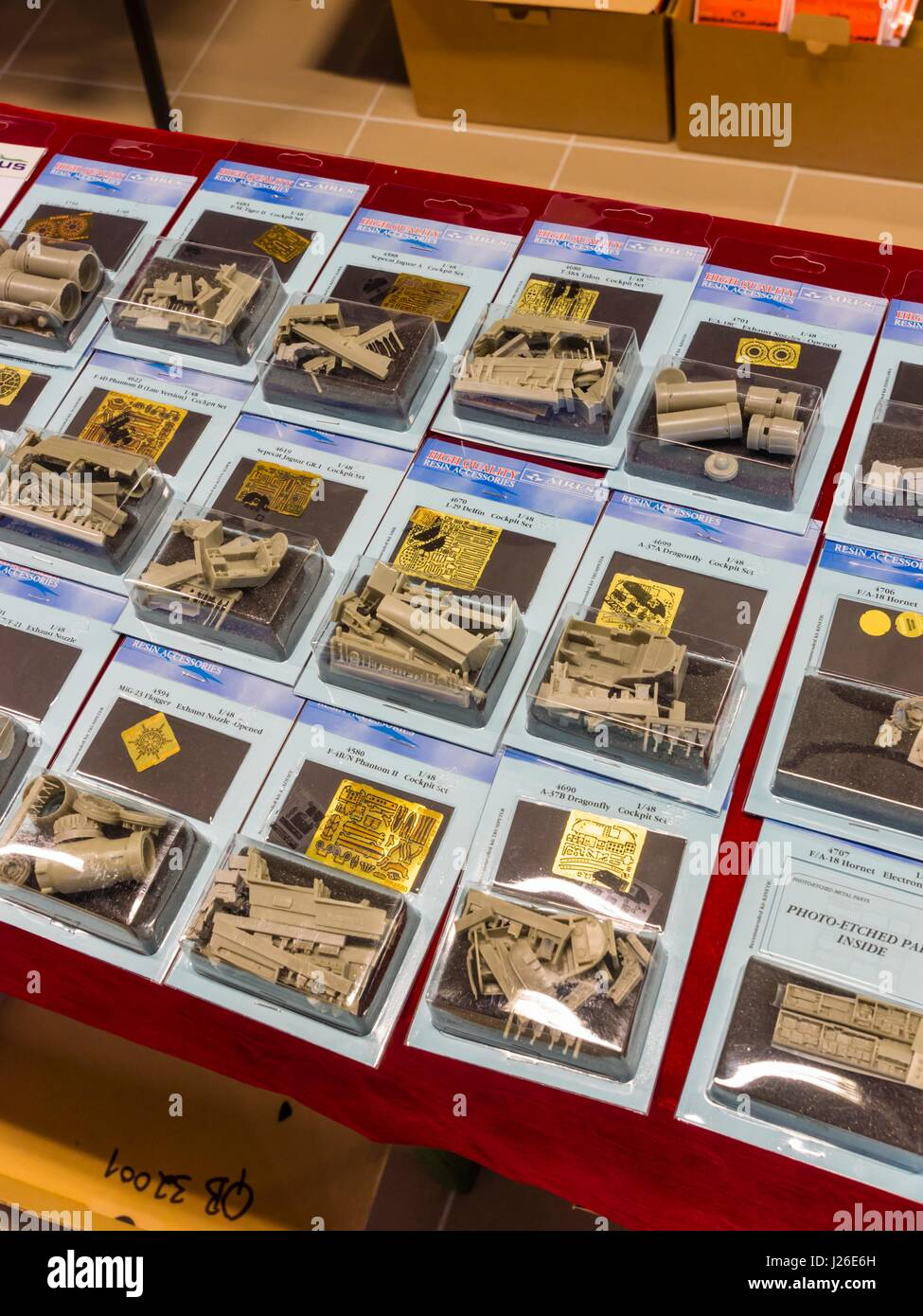 Plastic model kits Aires accessories aftermarket after