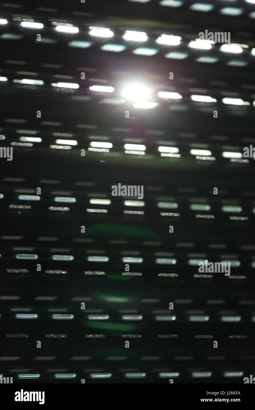 Rolladen im Sonnenschein - Stock Image