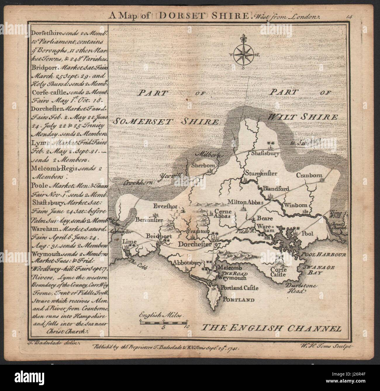Antique County Map Of Dorsetshire By John Cary 1787 Old Plan Chart And Digestion Helping Maps, Atlases & Globes Art Prints
